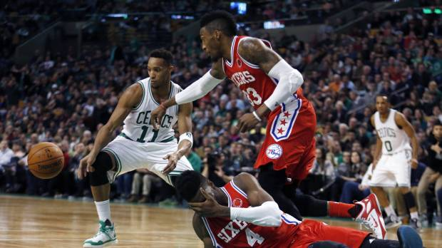 Sorry Sixers tie unwanted record