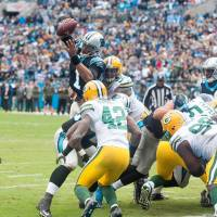 Newton leads Panthers to victory over Packers