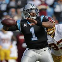 Newton's brilliance propels Panthers past Redskins