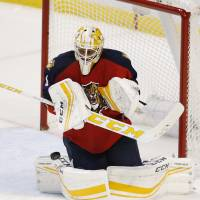 Panthers' Luongo posts 69th career shutout
