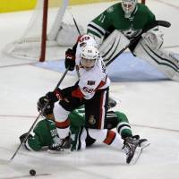 Senators end Stars' winning streak