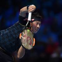 Djokovic crushes Nishikori at ATP Finals