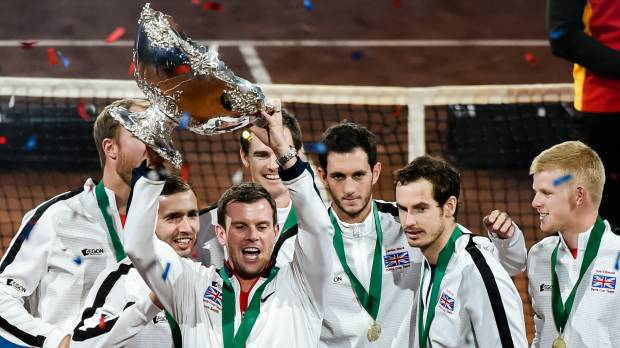 Murray's heroics give Britain first Davis Cup title in 79 years