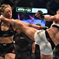 Holm shocks MMA with KO of Rousey