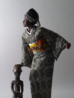 A Beautiful Cultural Blend African Kimono The Japan Times