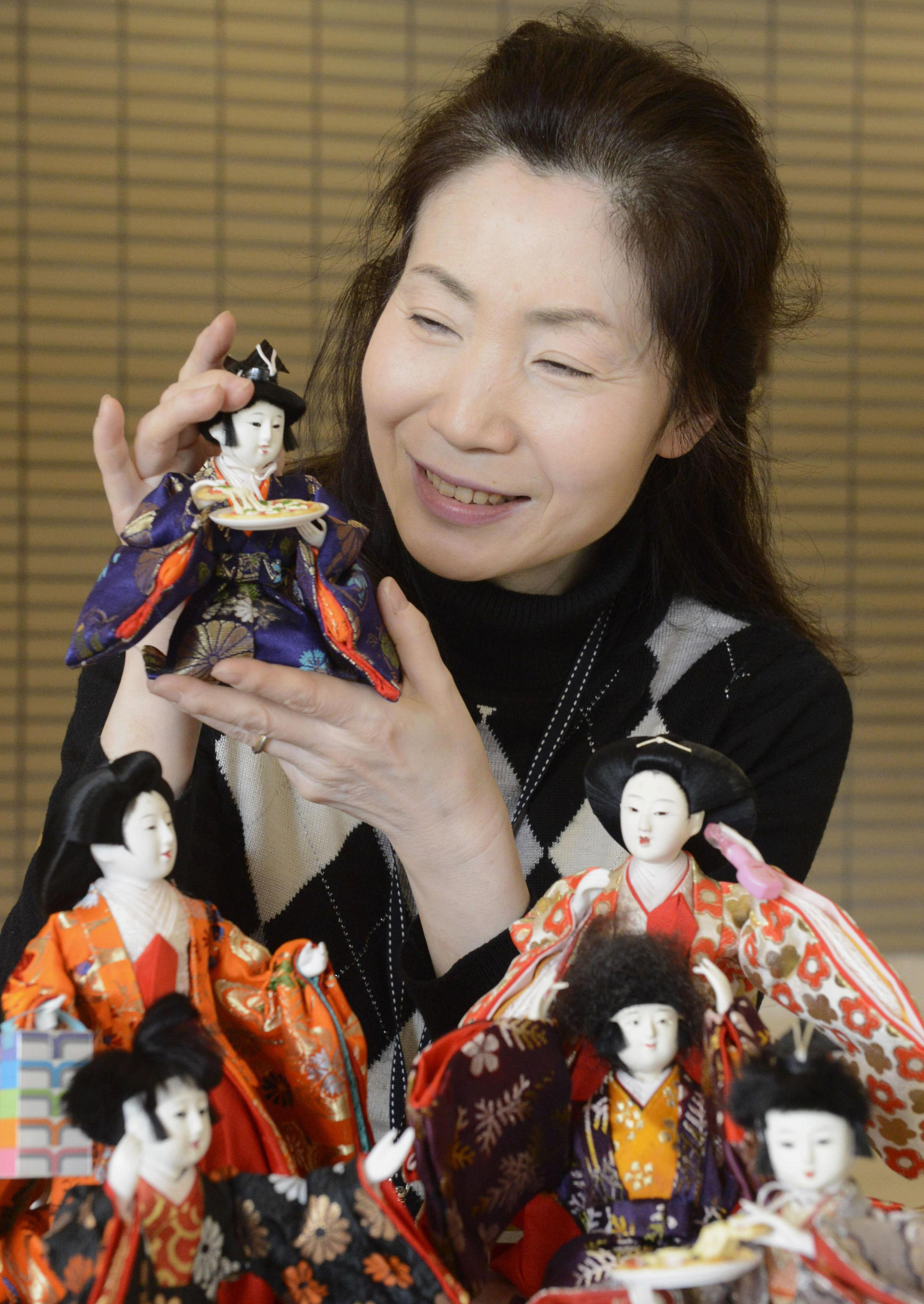 Off Pedestal Hina Dolls Take Up Ordinary Life The