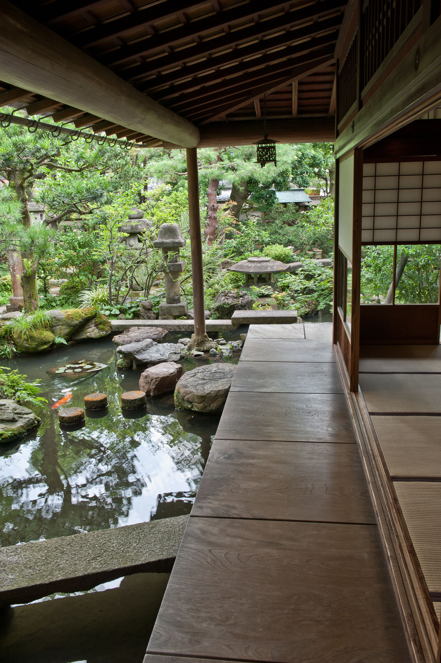 Buddhist Ceremony Traditional Japanese Garden: Small Is Beautiful In A Kanazawa Garden