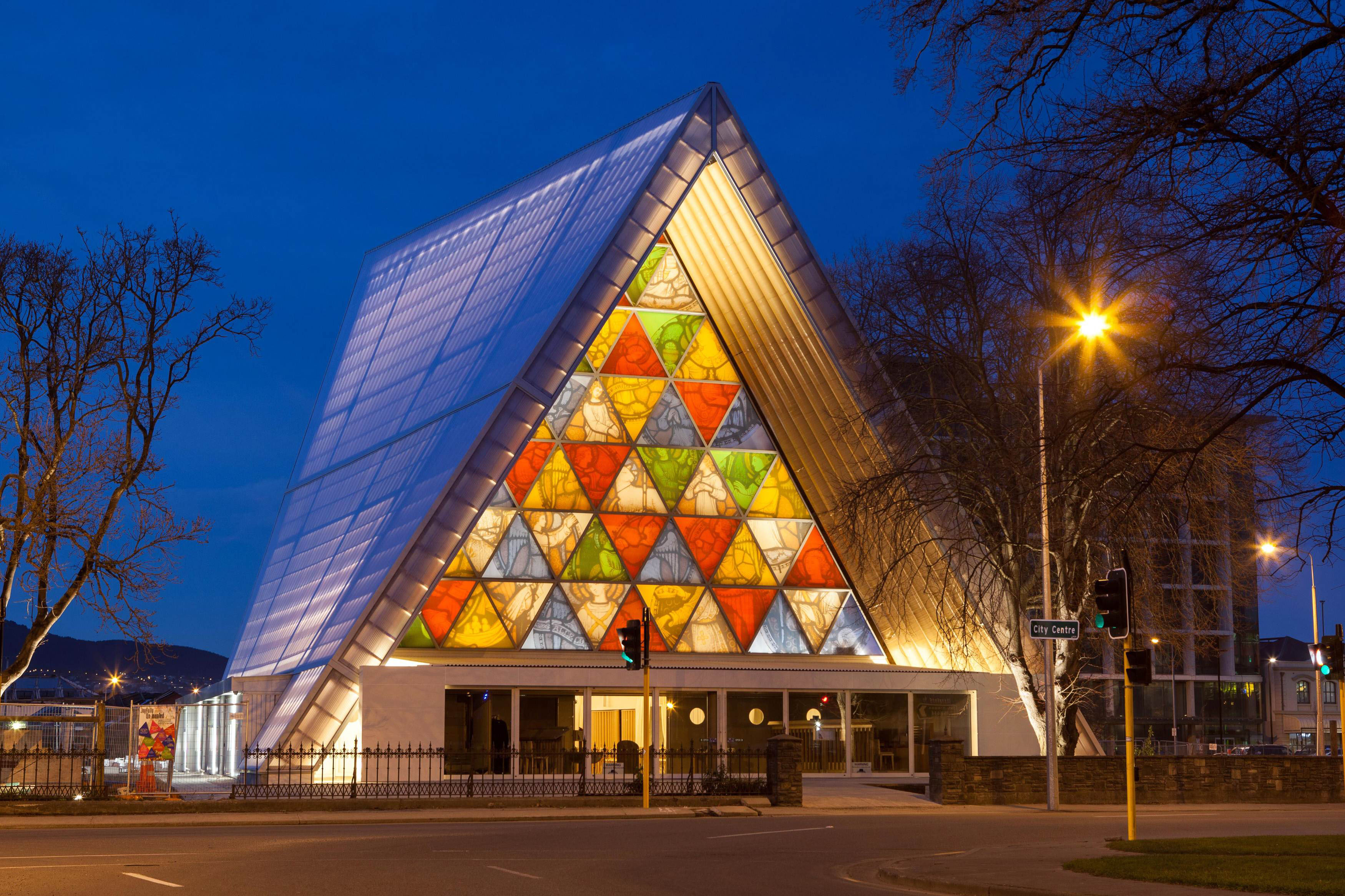 Christchurch News Photo: Cathedral Made Of Cardboard Opens In Earthquake-hit