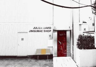 French designer Julien David has opened his first store in Tokyo, choosing fashion mecca Harajuku as its location.