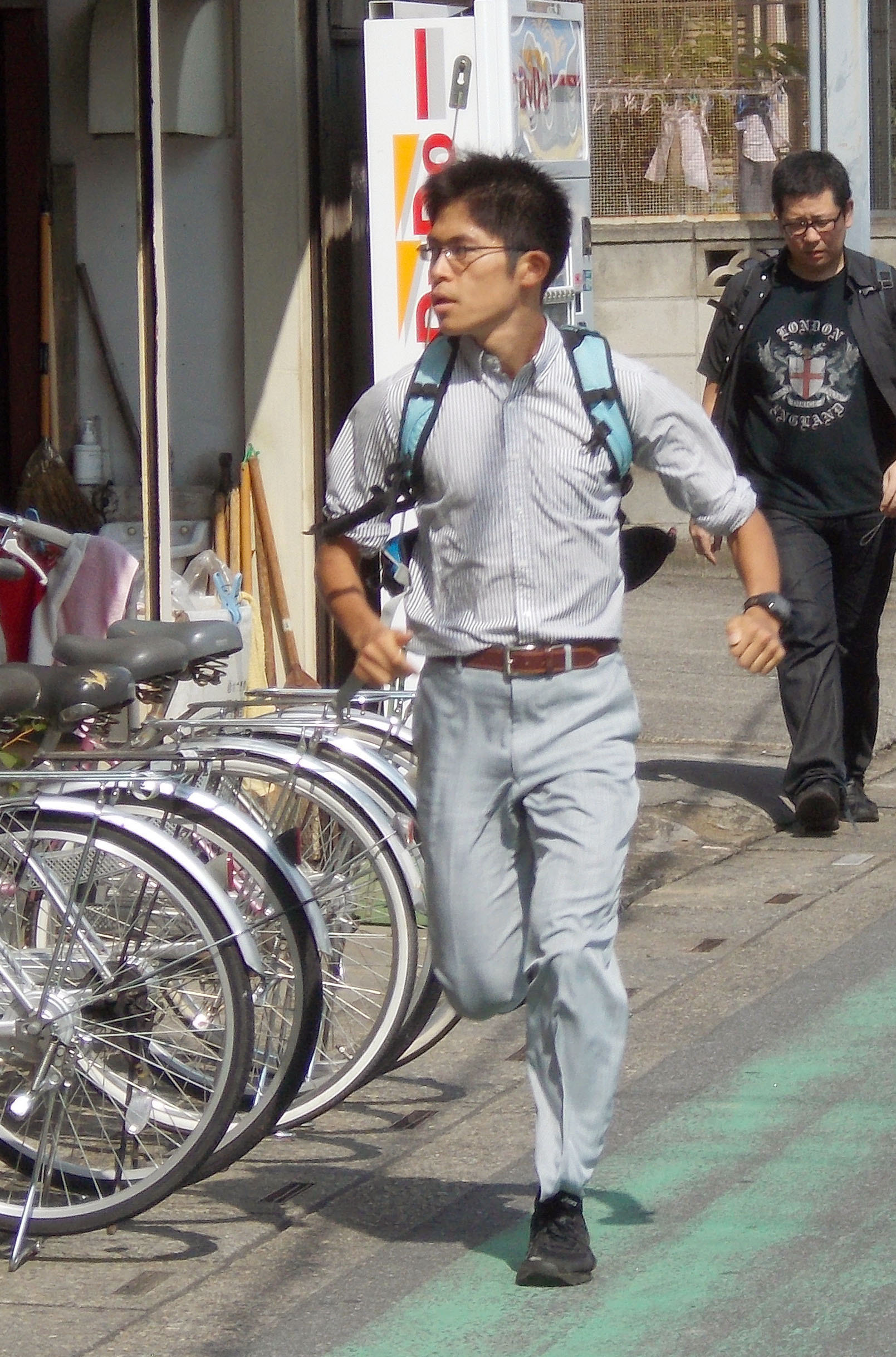 'Citizen runner' takes unconventional path | The Japan Times