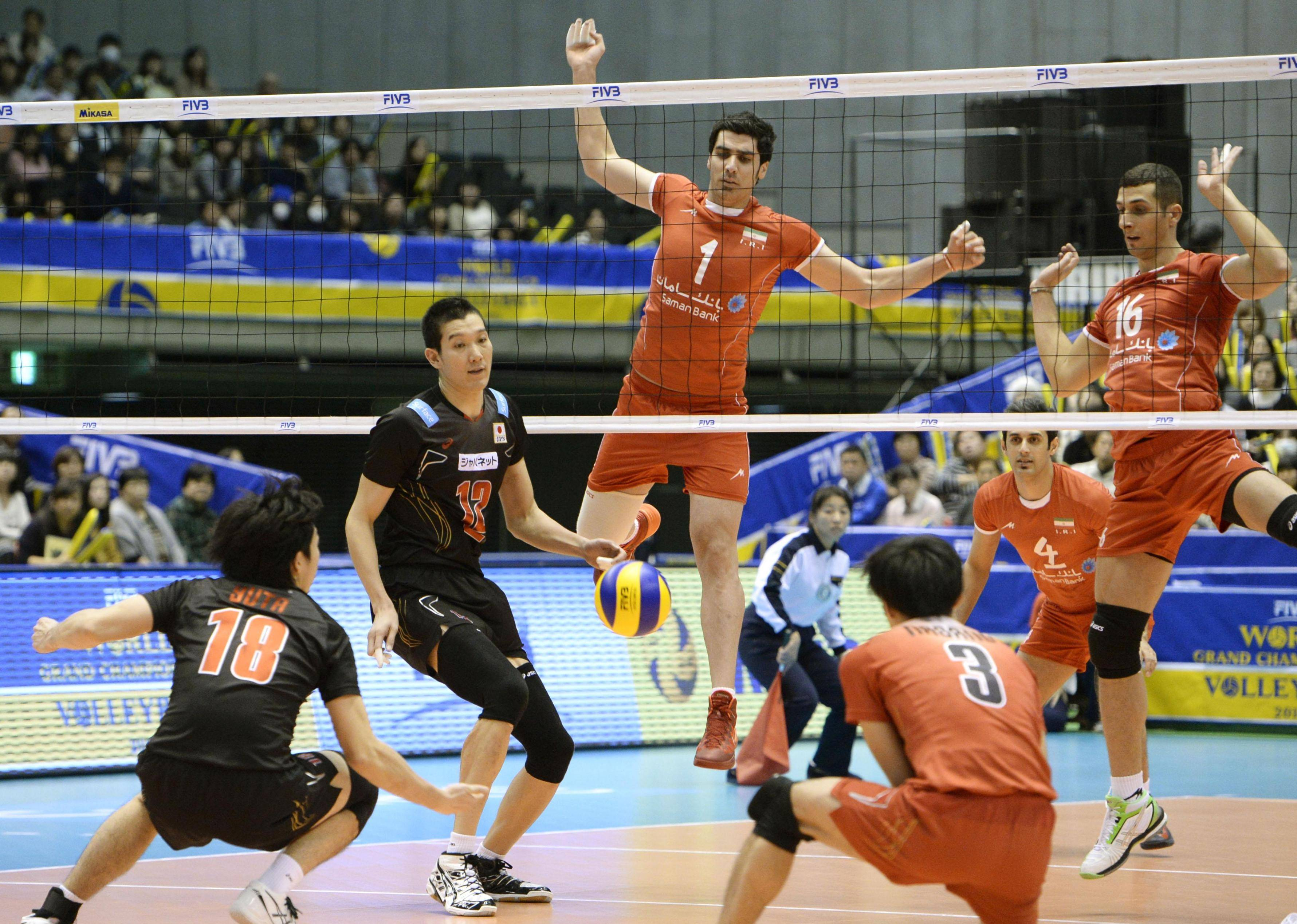 volleyball iran