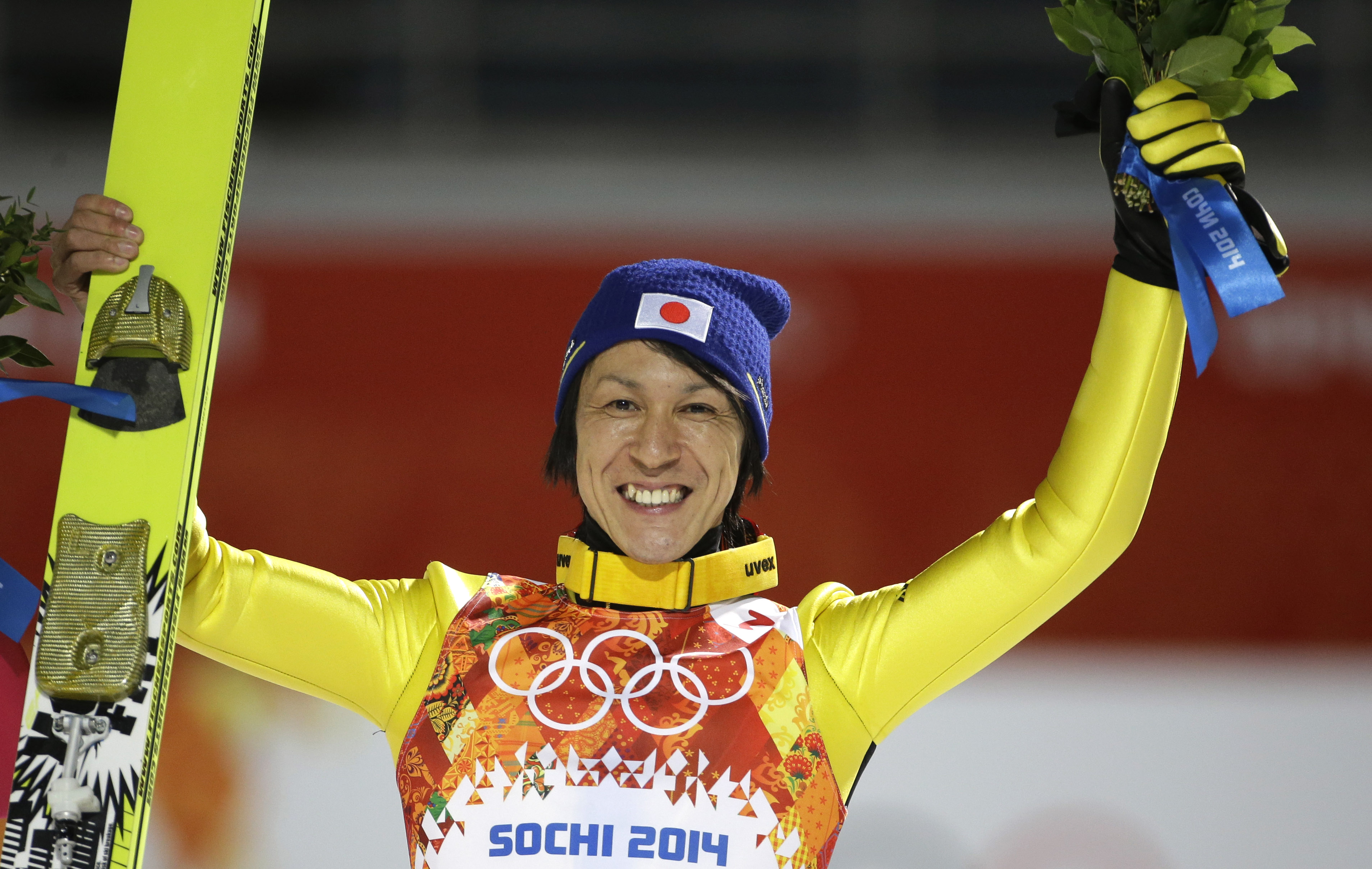 Long wait ends as Kasai takes silver medal in large hill jump | The Japan Times