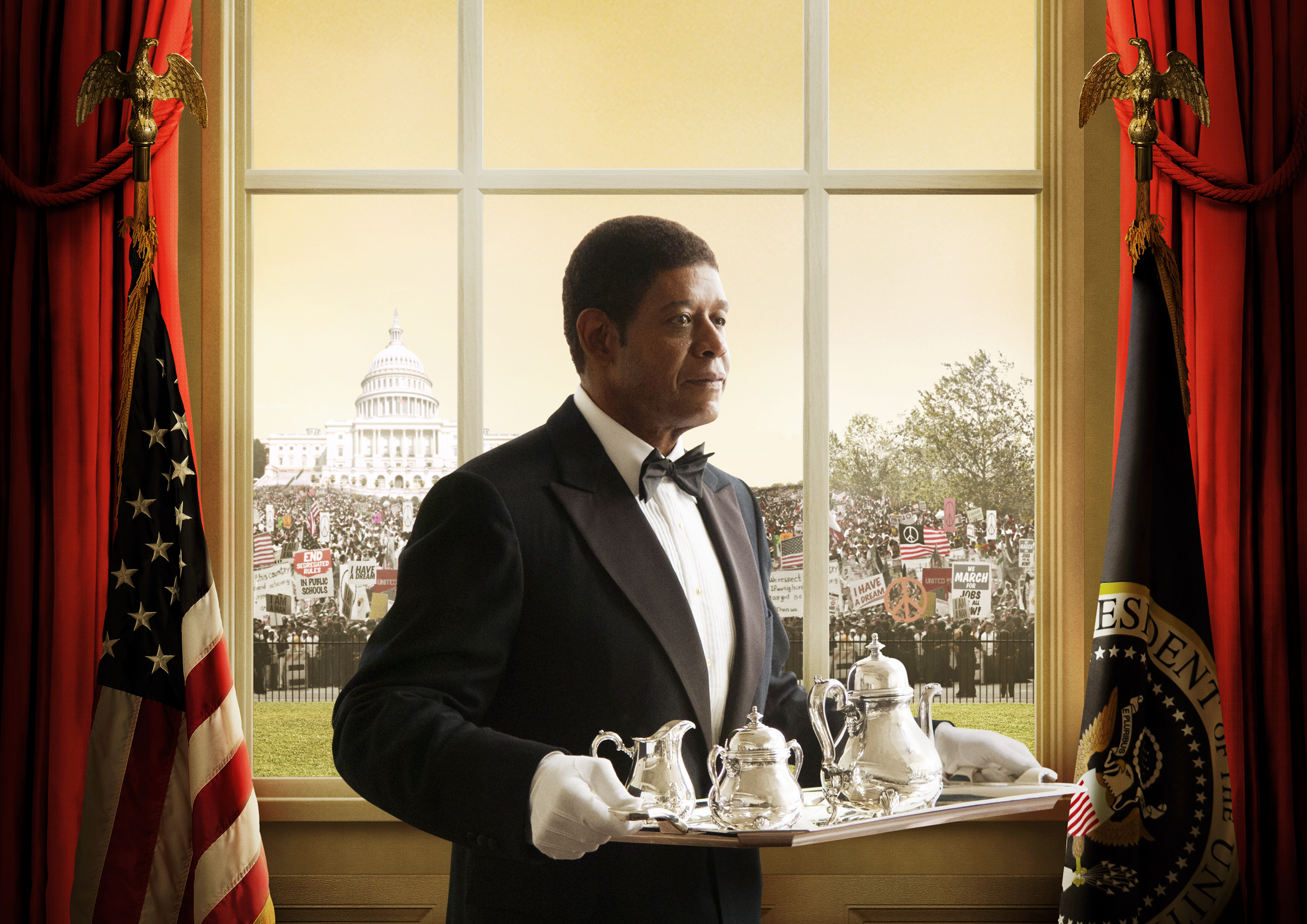 Exclusive: Patriotic New Poster for Lee Daniels' 'The ...  |Forest Whitaker The Butler