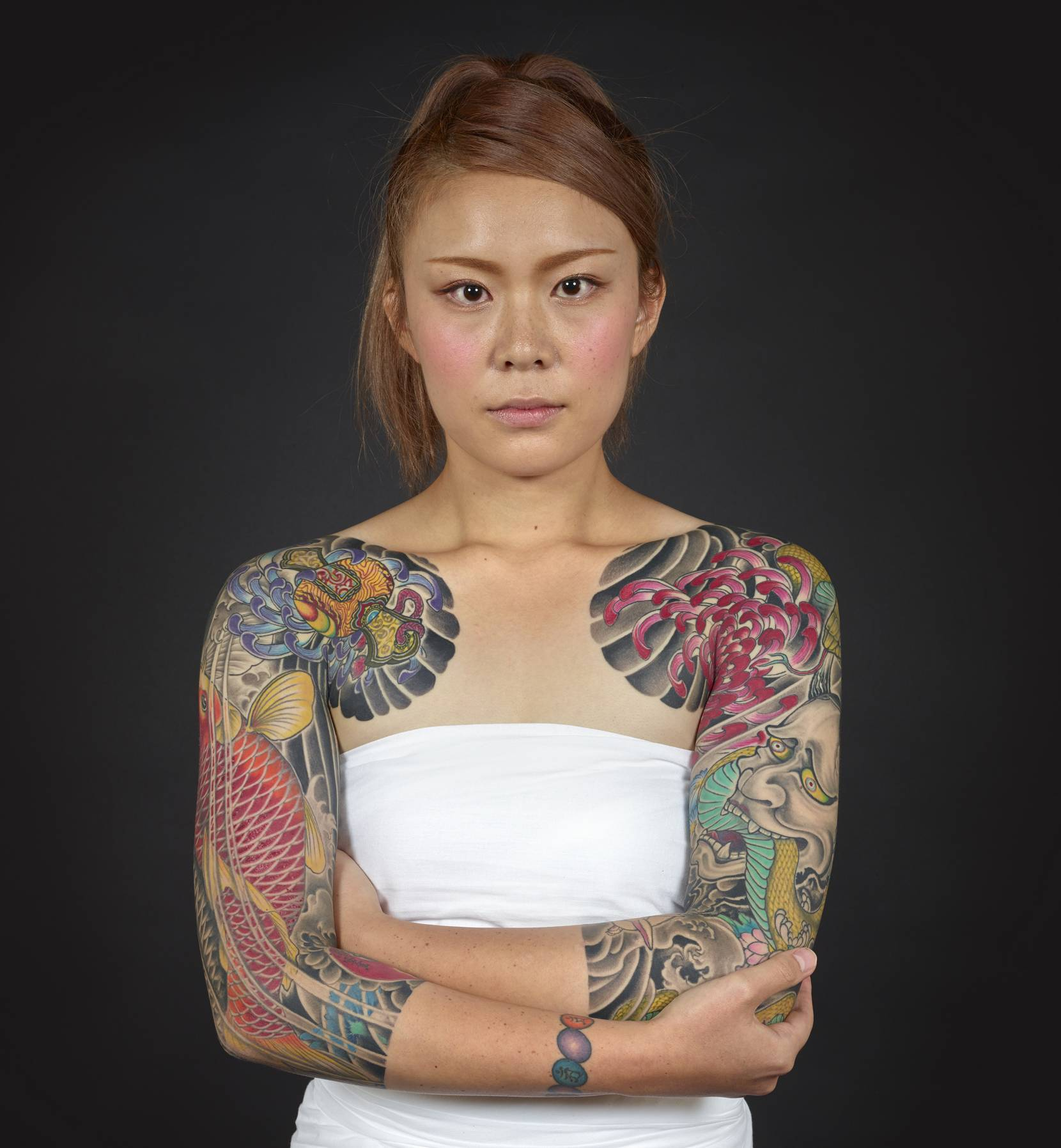 Loved Abroad, Hated At Home: The Art Of Japanese Tattooing
