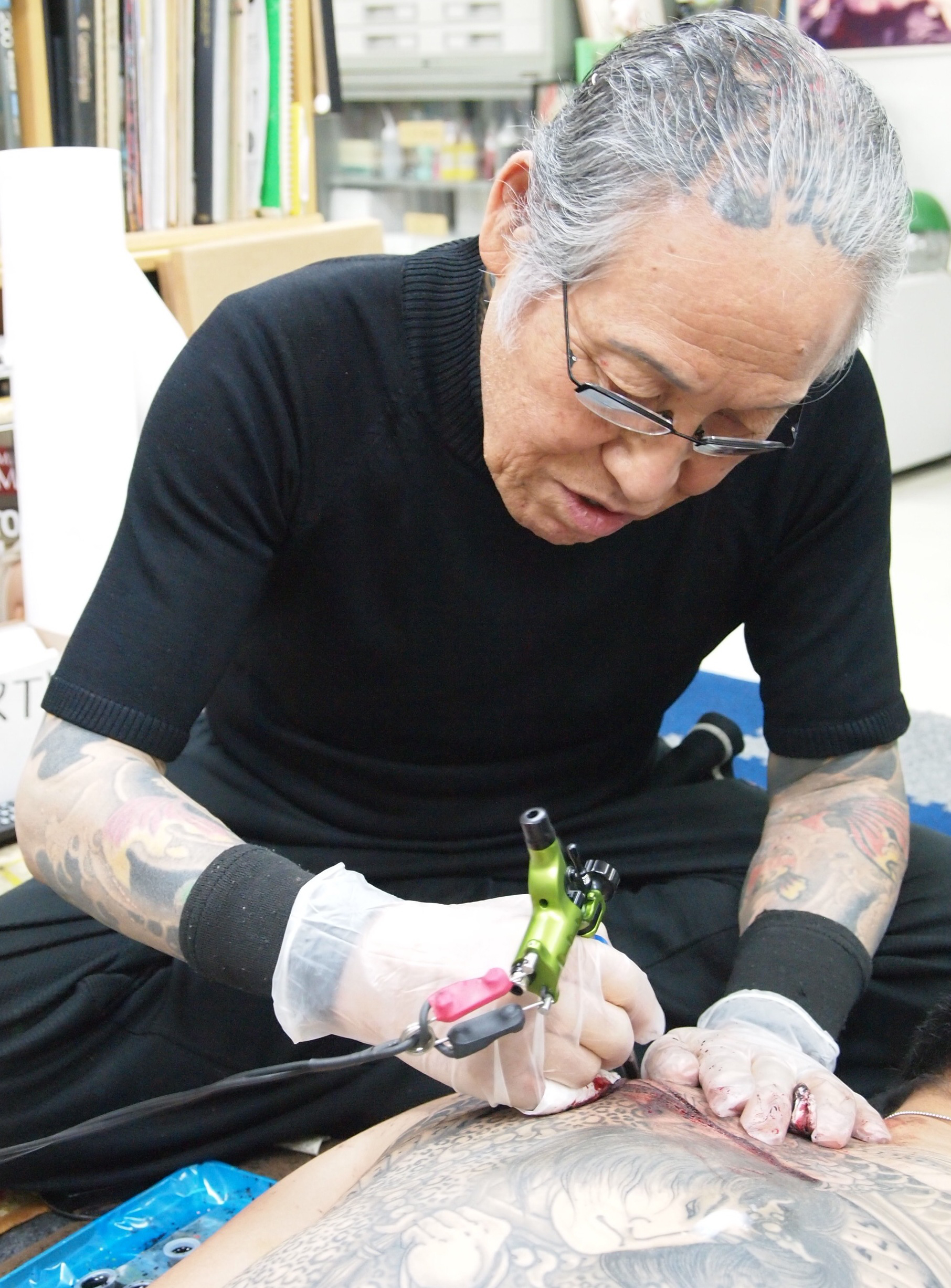 loved abroad hated at home the art of japanese tattooing