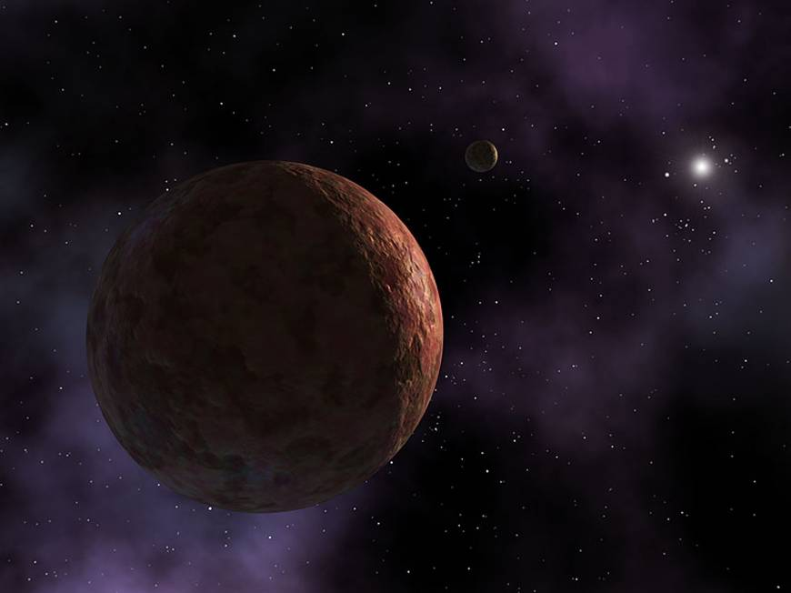 The dwarf planet Sedna, the only other object known in the ...