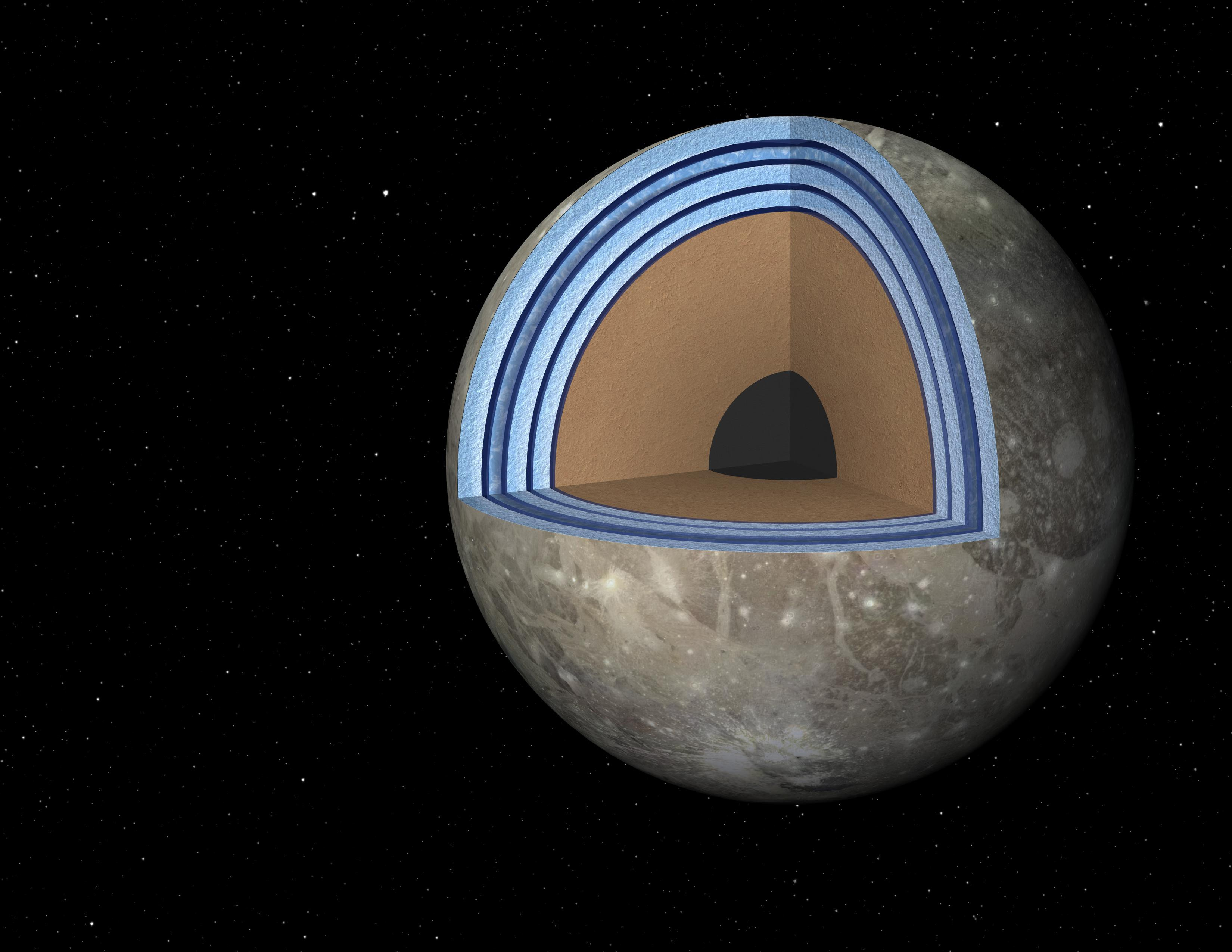 Jupiter moon's layers bring chance of life | The Japan Times