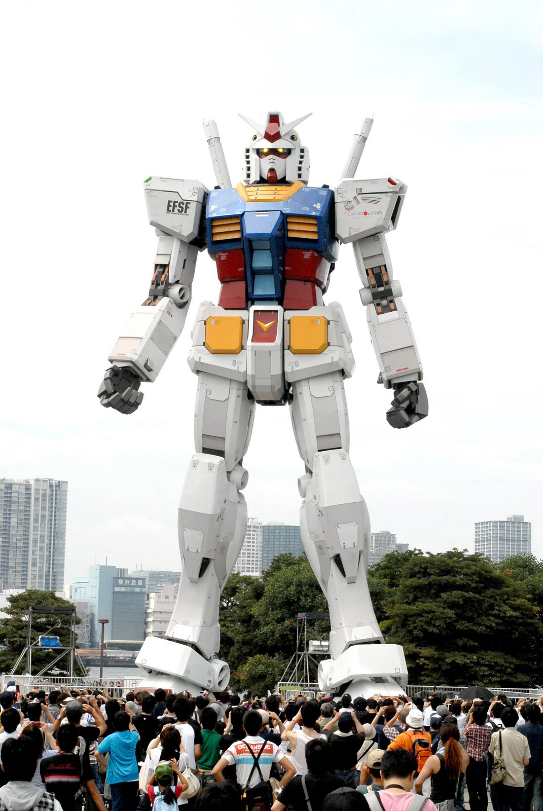 Public Asked To Help Build Moving Giant Gundam The Japan