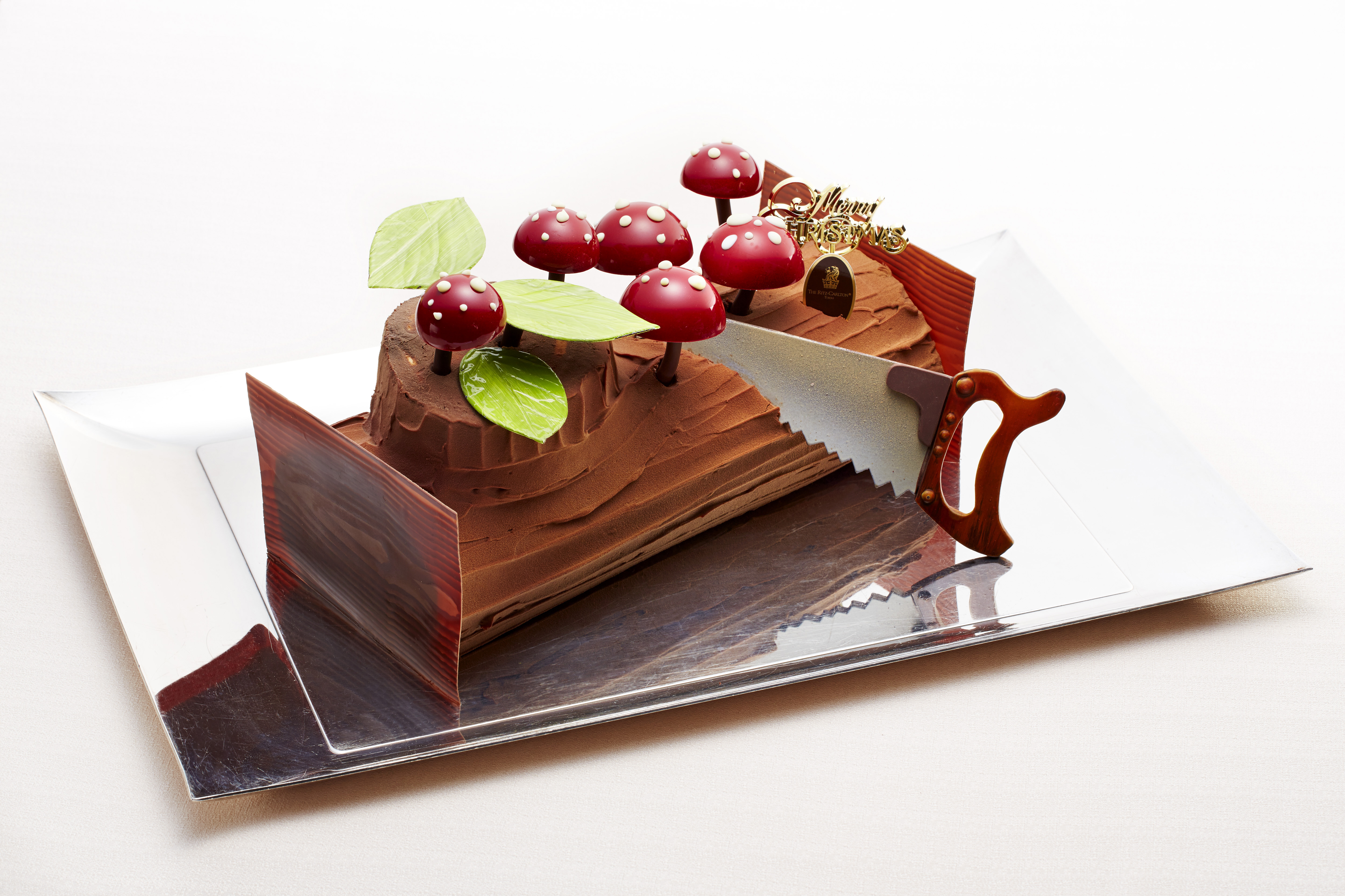 Buche De Noel Cafe christmas cake to ring in the holidays | the japan times