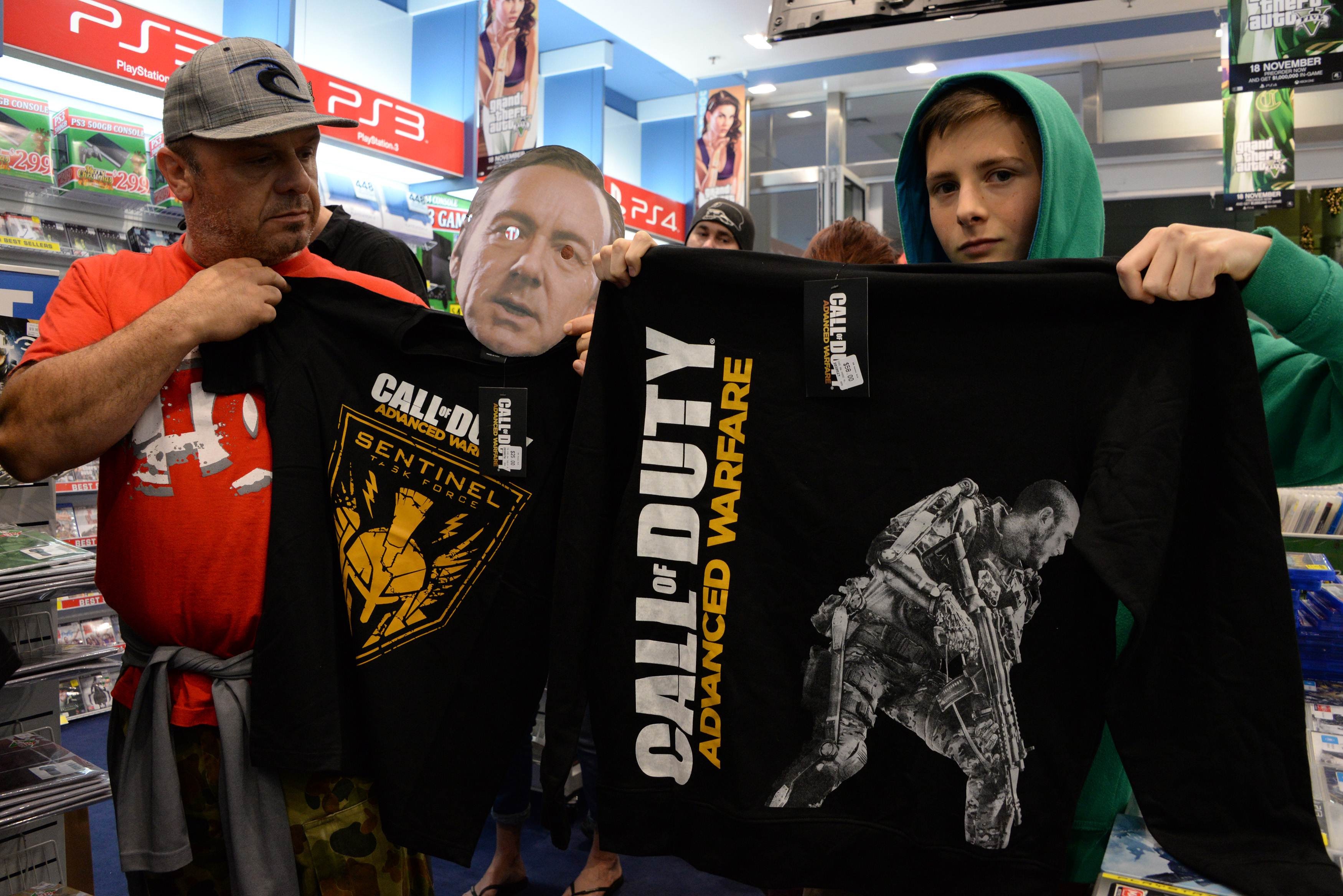 'Call of Duty' soldiers battle Kevin Spacey in latest installment of blockbuster video game ...