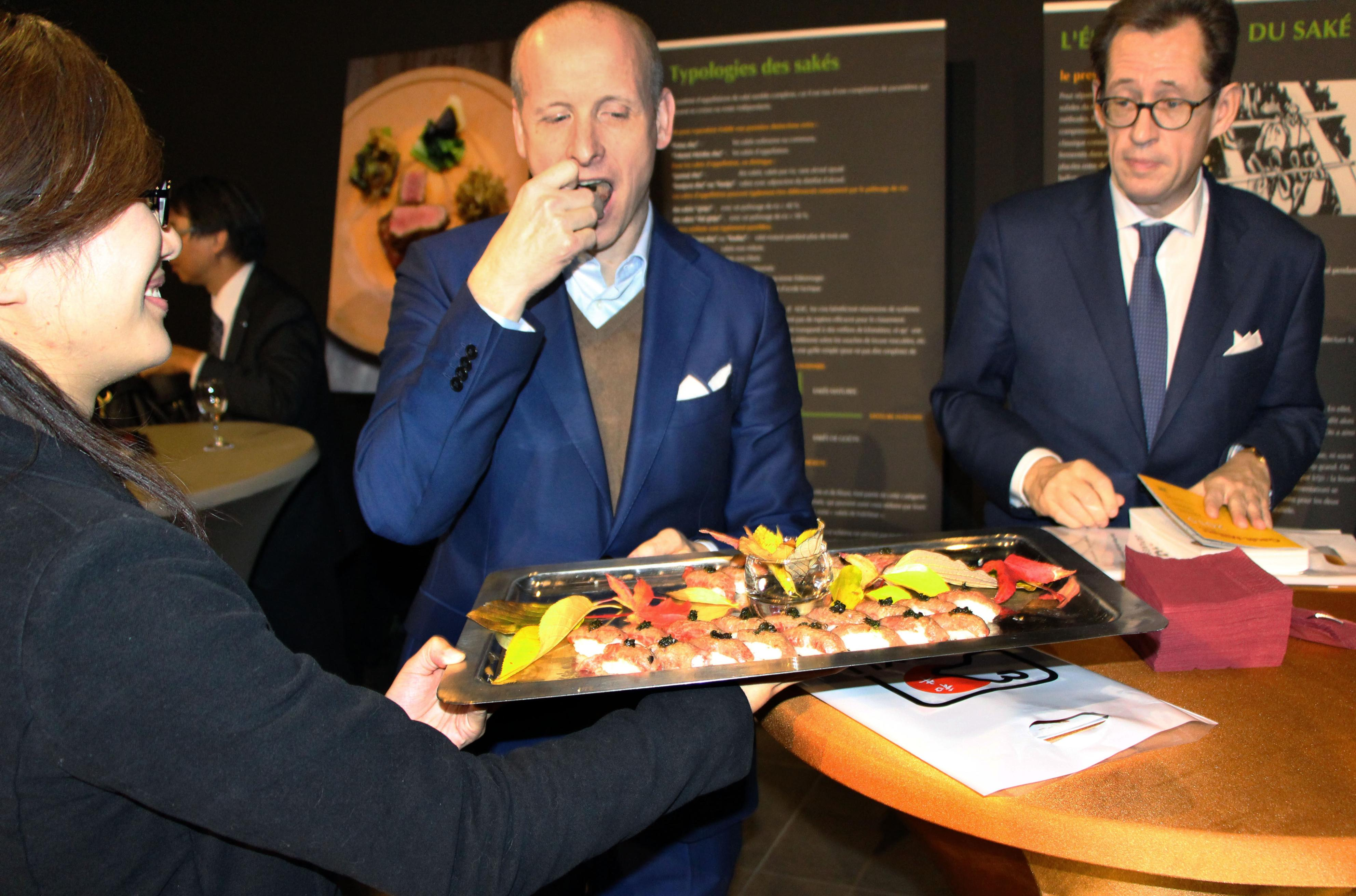 Japanese Promoters Give Brussels A Taste Of Wagyu Beef