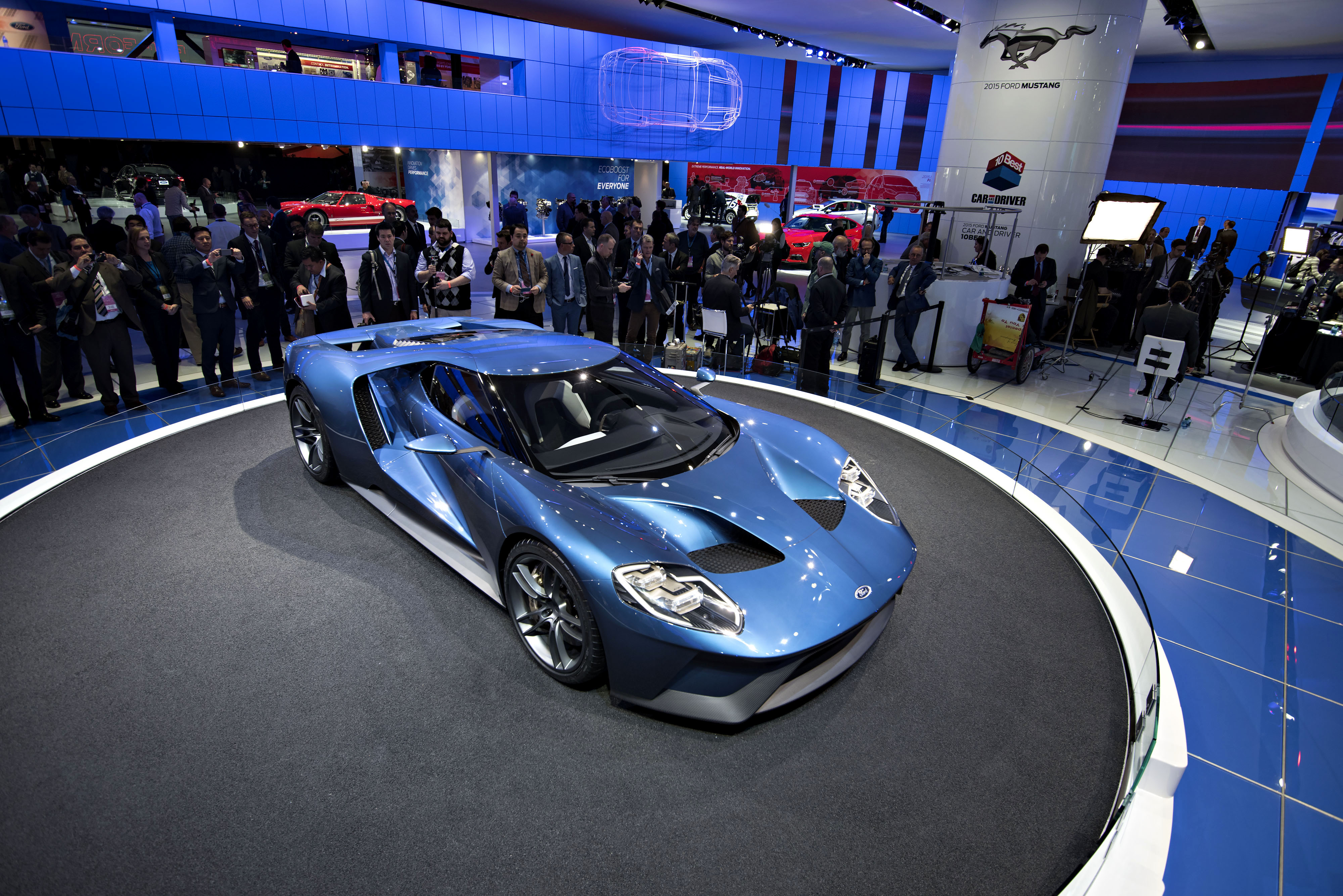 Hot cars at the Detroit auto show | The Japan Times