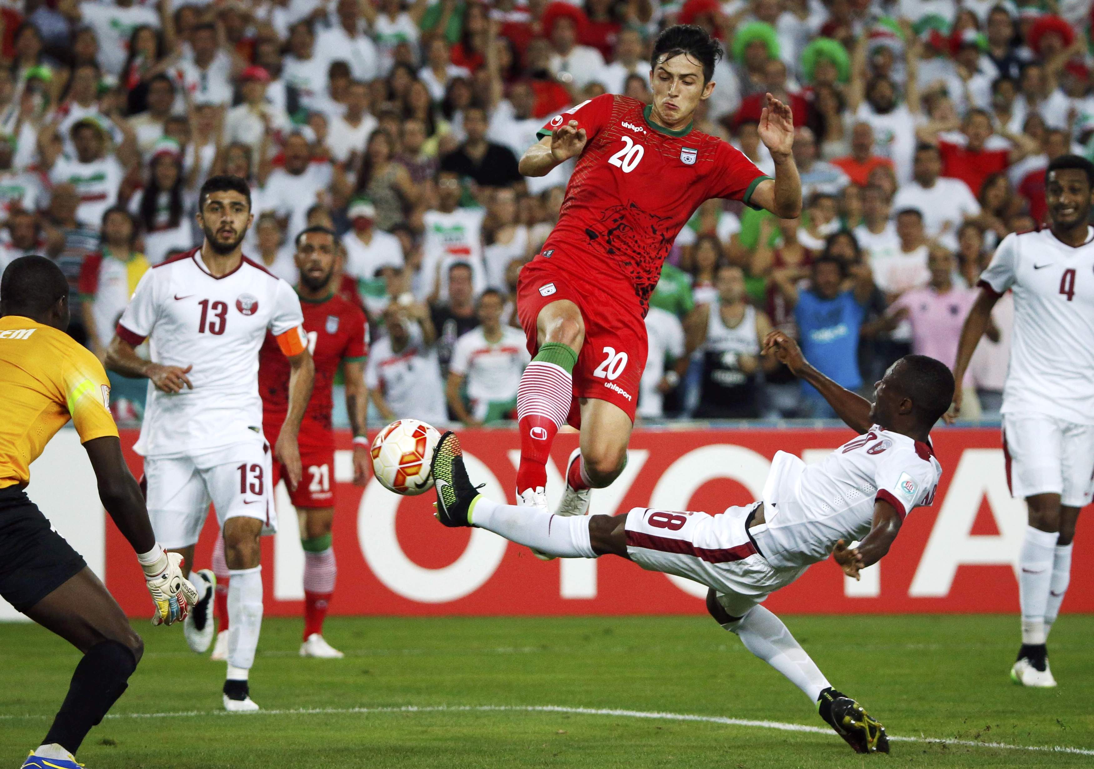 As tensions thaw, has the US challenged Iran to a game of ... |Iranian Soccer