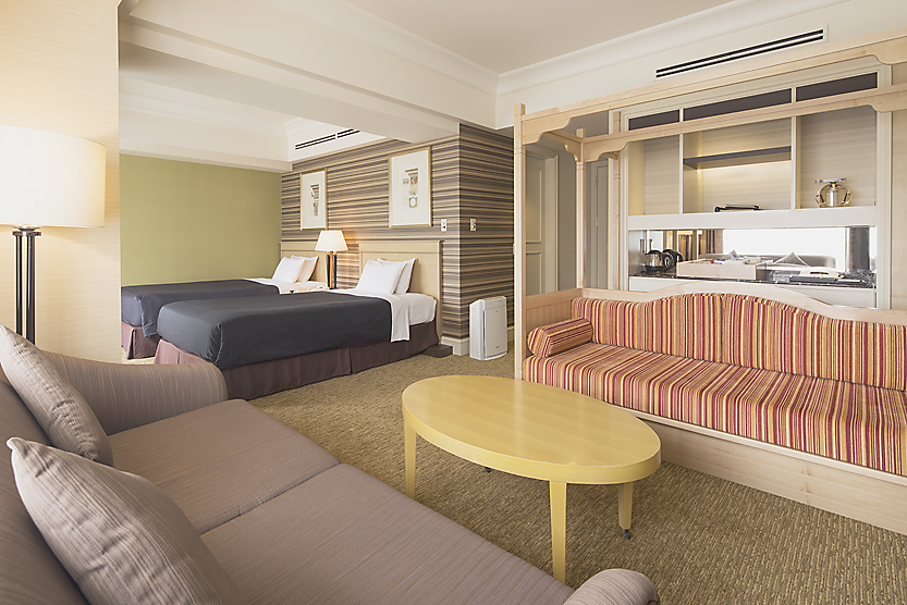 Hot springs, family rooms