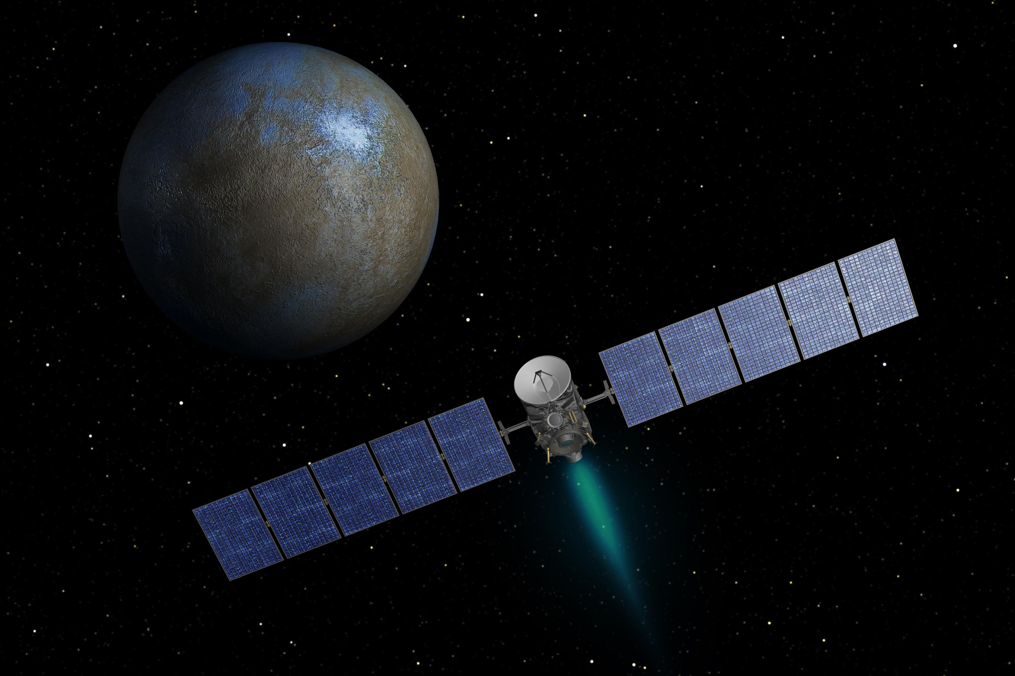Orbit: A space probe will stay over Ceres for 16 months to ...