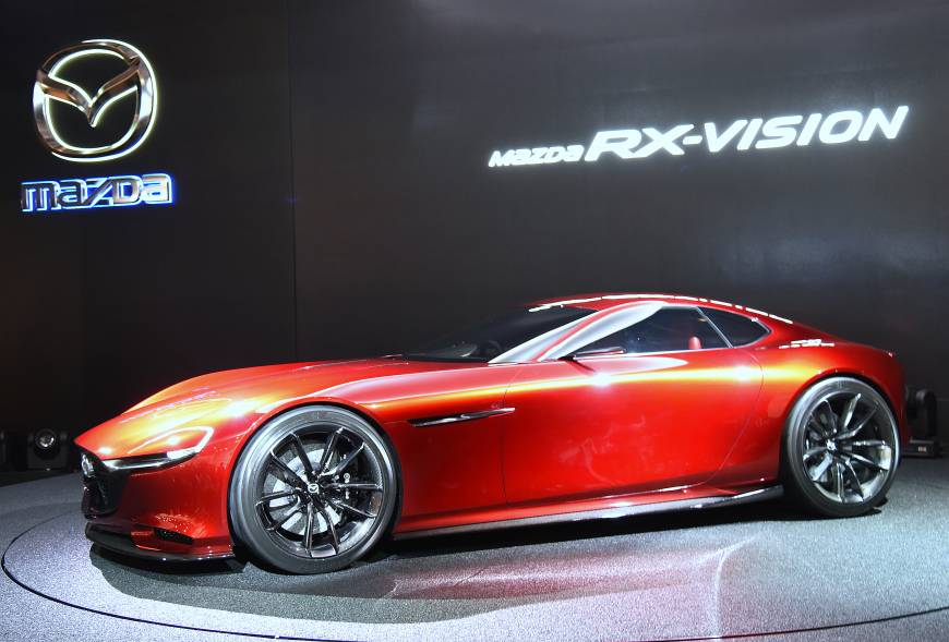 With its show-stealing RX-Vision, Mazda is aiming to revive its development of cars powered by rotary engines.