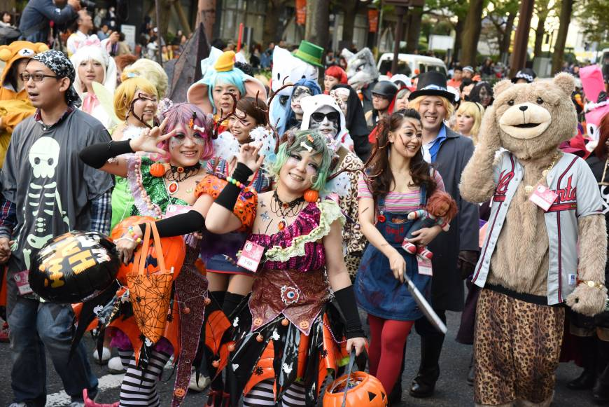 The annual Kawasaki Halloween Parade has it all from kawaii to kimoi, from store-bought to handmade costumes.