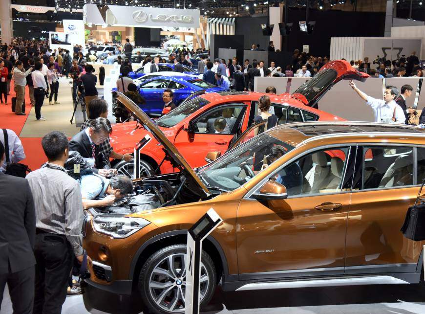 The 44th Tokyo Motor Show will showcase about 400 cars and motorcycles, with 76 appearing in public for the first time.